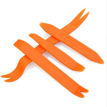 Hot Plastic Auto Dismantle Tools Kit Car Radio Door Clip Panel Trim Dash Audio Removal Installer Pry Kit Refit 4PCS/Set