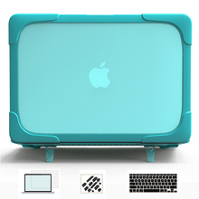 New Design Laptop bag case For MacBook Air 13 Hard Case accessories For Mac Book Pro Retina 15 11 12 inch(China)