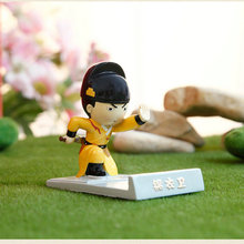Forbidden City Souvenir Ming Dynasty Jin YiWei Anime Action Figures Mini Resin Doll Mobile Phone Holder iPAD Mini Stand Gift