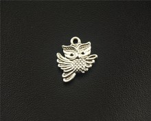 Buy 10pcs Antique Sliver Flying Owl Charm Fit Bracelets Necklance DIY Metal Jewelry Making 14x16mm A1541 for $1.10 in AliExpress store