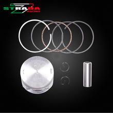 Engine Cylinder Part Piston and Piston Rings Kits For Yamaha XV250 XV 250 Motorcycle Accessories