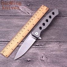 Camping Portable Utility Hunting Rescue Flip Folding Knife Outdoor Pocket Tactical Combat Utility knives Mini Survival EDC Tools(China)
