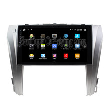 NaviTopia Brand New 10.1inch Quad Core Android 6.0 Car PC For Toyota Camry (2015-) Steering Car Audio Player With GPS Navigation(China)