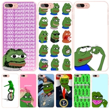 Internet Meme Smug Frog Pepe cell phone Cover case for iphone 6 4 4s 5 5s SE 5c 6 6s 7 plus case for iphone 7