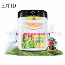 EDTID Mini Car 15L Heat Fridge Portable 12V Auto Warming Refrigerator Cooler Multi-Function Home Cooler(China)