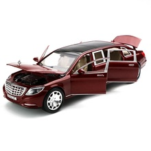 1:24 Alloy Luxury Car model, Excellent Quality Die Cast Vehicles 22Cm Nice collection 6 Open doors(China)