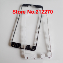 "50pcs/lot New Front LCD Middle Frame Bezel With Hot Glue For iPhone 6S Plus 5.5"" Replacement Parts Black/White Wholesale"