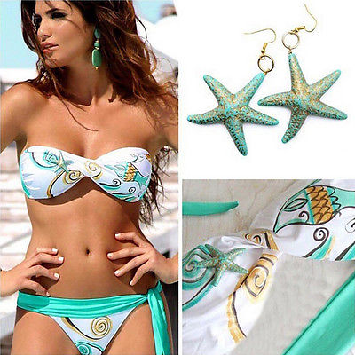 UK Sexy Womens Push Up Beach Swimwear Bra Bikini Set Bathing Swimsuit<br><br>Aliexpress