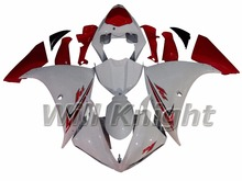 For Yahama YZF1000 YZF R1 2009 2010 2011 2012 ABS Injection Molding Body Panel White Red