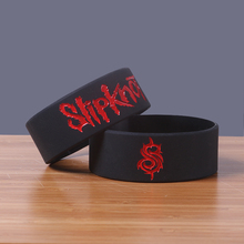 Wholesale 30PCS/Lot Debossed Slipknot silicone bracelet china 2016New cheap silicone wristband Print cloud rubber bangle(China)