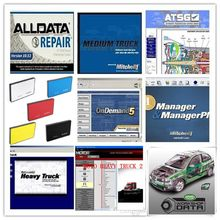 alldata software alldata and mitchell ondemand repair software 2015 with Vividwork shop data alldata heavy truck 26in1tb hdd(China)