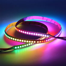 1m 144 LEDs DC5V WS2813 5050 RGB Upgraded WS2812B Individually Addressable full dream color led pixel strip light Non-waterproof