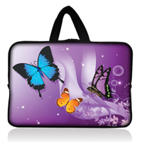 Purple butterfly Tablet Case Sleeve 7 inch BlackBerry PlayBook / Acer Iconia Tab A100 A101 - NO:1 BAG SHOP store