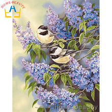 Home beauty 3D Diy diamond painting animal bird picture of rhinestones pasting decorative painting embroidery mosaic paint AB276(China)