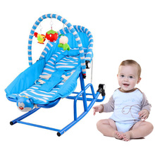 Fashion Baby Rocker Music Vibrating Rocking Chair Toddler Adjustable Bouncer Seat Swing Rocking Crib chaise longue