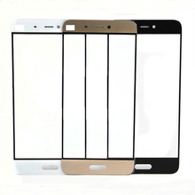 Black/White/Gold/Pink Front Panel For Xiaomi mi5 MI 5 M5 Mobile Phone Outer Touch Screen Glass Lens Replacement Repair Part