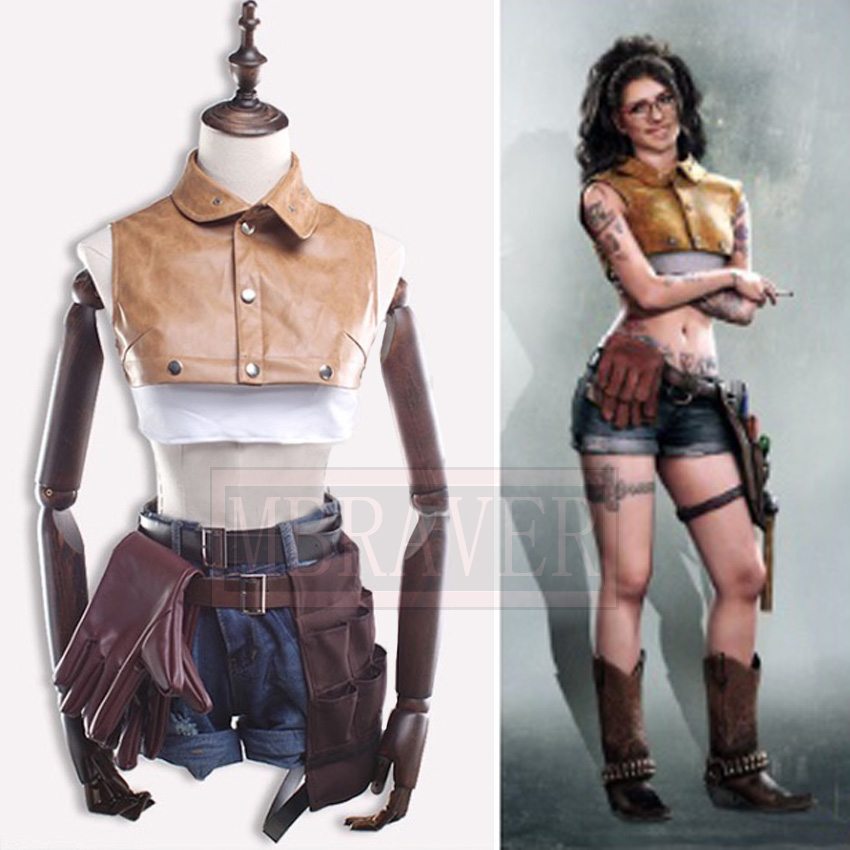 New Game Devil May Cry 5 DMC Nico Cos Halloween Uniform Full Set Cosplay Costume Custom Made Any Size
