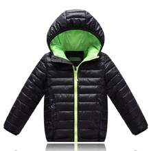 4-12Yrs Baby Boys Winter Jacket&Coat,Baby Boys Cotton Fashion Winter Jacket&Outwear,Kids Warm Cotton Padded Coat,Boys Coat(China)