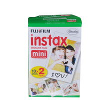 20 Sheets Genuine White Edge Fuji Fujifilm Instax Mini 8 Film For 8 50s 7s 90 25 Share Polaroid 300 Instant Cameras Photo Paper