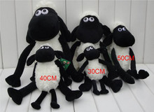 Free shipping Shaun the Sheep Plush Mascot Plush Doll Animated Cartoon Baby Toys with Children's Activities in the Annual Christ