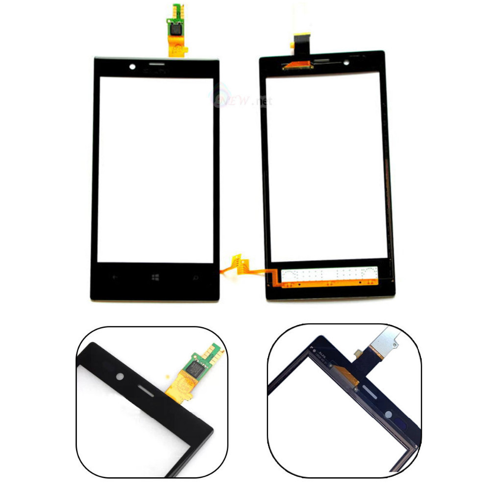 Black New For Lumia720 Touch Screen Glass Lens Digitizer Panel For Nokia Lumia 720 Touchsreen Replacement Parts Repair<br><br>Aliexpress