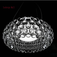 Dia35/50/65cm Modern Acrylic Caboche Pendant Lights Bedroom Pendente Lustres Pendente Para Sala 110-240V Restaurant Fixtures(China)