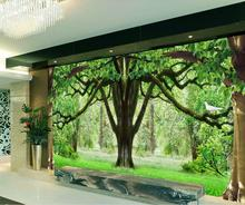 3d customized wallpaper Woods living room background wall mural 3d wallpaper custom 3d photo wallpaper