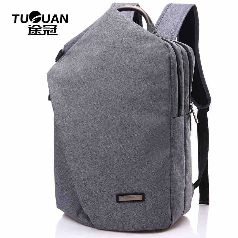 TUGUAN Men Business Backpack Large Capacity 14 Inch Laptop Bag 2016 Women Casual Shoulder Bag Travel Backpack Free Shipping<br>