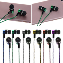 3.5mm Stereo In-Ear Earphone Headset Earbuds For iPhone for Samsung MP3/4 jul27(China)