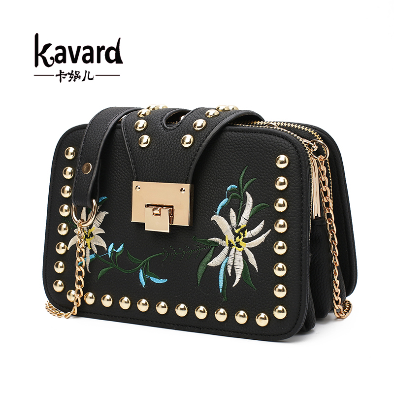 2017 Kavard Brand Famous Samll Chains Luxury Women Bag lady Bag Bolsa Feminina Crossbody Bag Designer Sac A Main Femme De Marque<br><br>Aliexpress