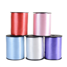 XXPWJ  High Quality 220m 4mm 250yards Balloons Ribbon for Wedding Party Birthday Balloon Decoration PP Ballon Curling Ribbons