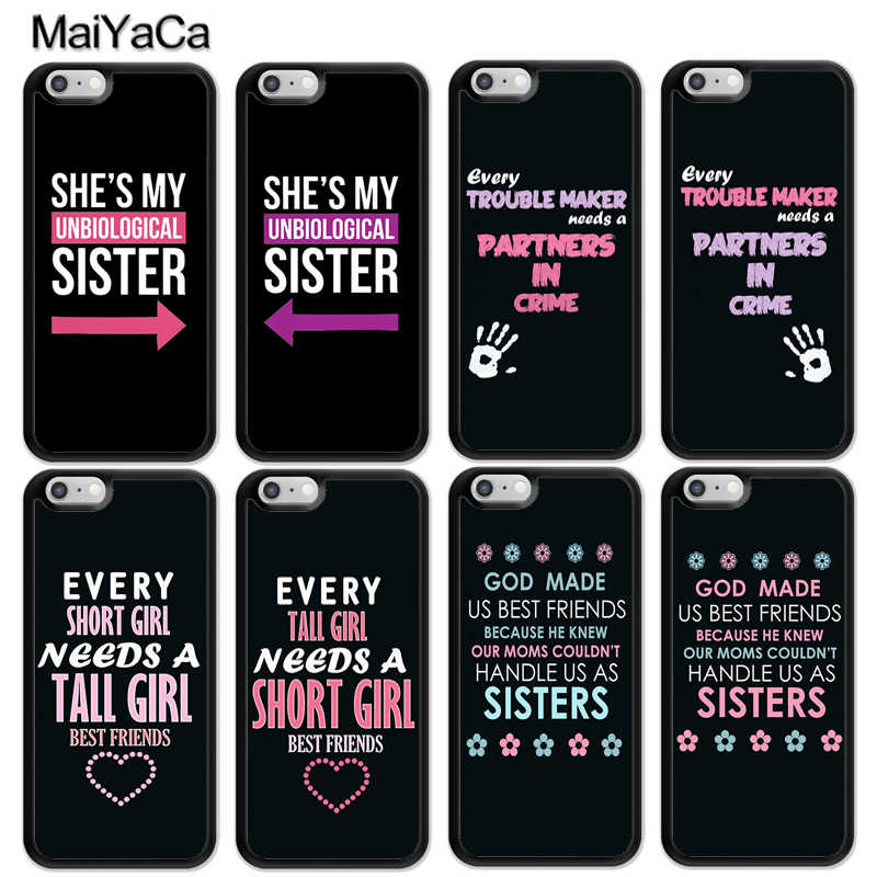 9d94c6b371 Detail Feedback Questions about MaiYaCa Lovers BFF Couple Best Friends  Matching Phone Cases For iPhone 6 6S 7 8 Plus XS Max XR 5S SE Back Cell  Housing Cover ...