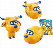 Egg Super Wings Mini Airplane ABS Robot Action Figures toy Super Wings Transformation robot Jet Animation for Children Kids Gift(China)