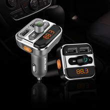 FM Transmitter Bluetooth FM Modulator Handsfree Car MP3 Player Support Folder Switch Car Charger TF Card / U Disk Play(China)