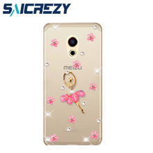 Buy luxury Bling rhinestone crystal mobile phone case cover meizu pro 5 6 MX4 MX5 PRO/MX6/meilan U10/meilan U20 max meilan 5 M5 for $3.99 in AliExpress store