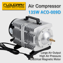 135W Air Compressor Electrical Magnetic Air Pump for CO2 Laser Engraving Cutting Machine ACO-009D