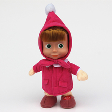 Toys Arrival Russian Masha and Bear plush Dolls Baby Children Best Stuffed & Plush Animals Gift -Style have stock Hot Sale