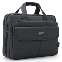 16 Inches Briefcase Laptop bag can put in 15.6 inches Computer bags Men business Shoulder bag Male Man handbags(China)