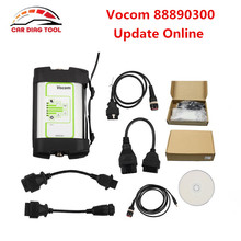 2017 Newest Update Online Vocom With USB Interface For Volvo / Renault / UD / Mack Vocom 88890300 Diagnostic Tool DHL Free(China)