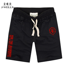 Cool Game DOTA Shorts Mens Knee Length Shorts Men Cotton Lion Short For The Alliance Boys Bermuda Funny Logo Anime Plus Size XXL