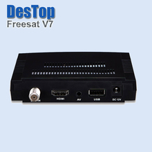 Original Freesat V7 DVB-S2 HD Satellite TV Receiver Support PowerVu Biss Key Cccamd Newcamd Youtube Youporn Set Top Box