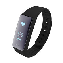 "Smart Band NFC Edition Heart Rate Monitor 0.86"" OLED Touchpad Smart Wristband USB Charger Fitness Tracker Smart Band Watch PW131(China)"