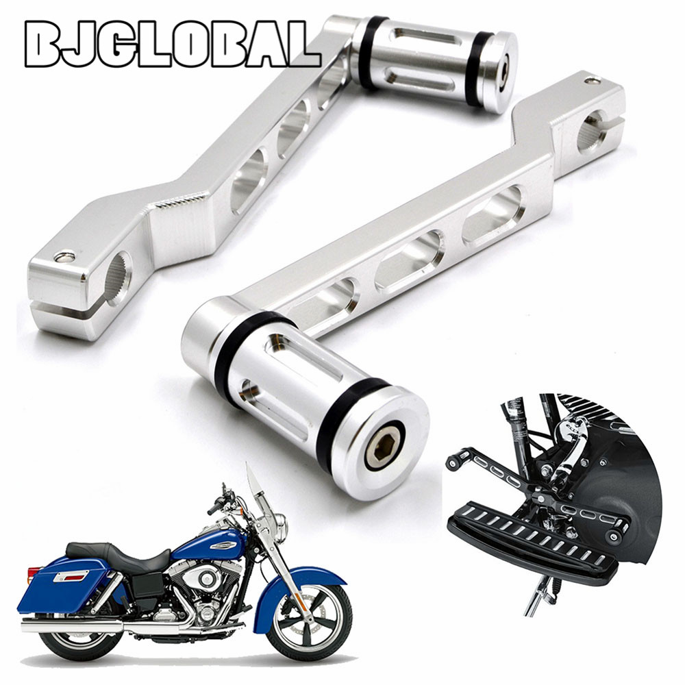Motorcycle Pedal Heel Toe Gear Shifter Shift Lever with Shift Pegs  For Harley Touring Softail Road Glide<br>