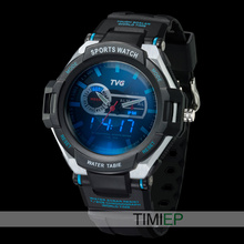 TVG Men Sports military digital Watch Army wristwatch Blue LED Pointer 30AM Waterproof Vibration Alarm Watch