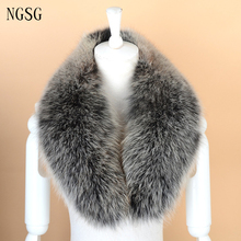 Fur Collar Women's Coat Collar Customized Noble Winter's Accessories Type Real Fox 100% Genuine 80 cm Length Great SF13060-18