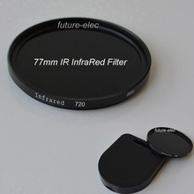 77 77mm IR Infrared Infra-Red Filter 720nm For Nikon D60 D70 D70S D80 D90 D300 D600 D610 D700 D700S D750 D800 D800E Camera Lens
