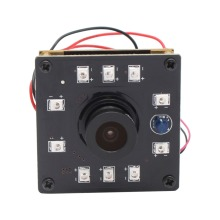 1280X720 H.264 30fps Night Vision USB Camera 10pcs IR LEDs infrared CMOS OV9712 mini usb camera board for embedded application