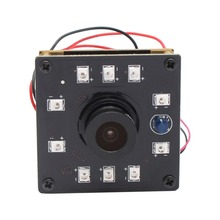 1280X720 H.264 30fps Night Vision USB Camera 10pcs IR LEDs infrared CMOS OV9712 mini usb camera board for embedded application(China)