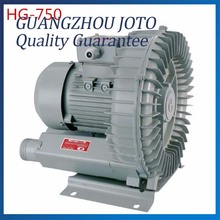 HG-750 120M3/H 50HZ/60HZ 220V Special Aluminum Industrial Vacuum 750W High Pressure Vacuum Swirling Vortex Blower(China)