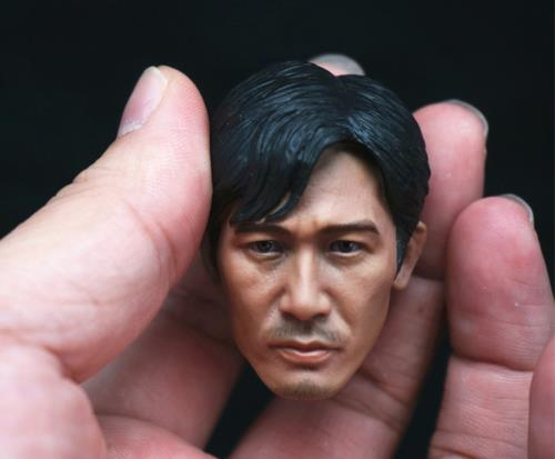 1/6 Scale Tony Leung Chiu Wai Head Sculpt Model F/12 Male Action Figure Body<br>